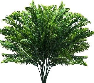 BELLE VOUS Planta Artificial Boston Helechos (6 Piezas) - 37,5cm Artificiales Boston Arbustos Helecho Verde Plantas para E...