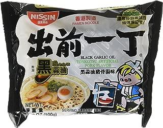 black garlic oil tonkotsu