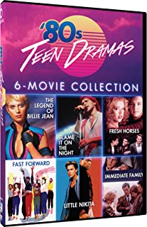 80s Teen Dramas - 6 Movie Set - Legend of Billie Jean - Blame It On the Night - Fresh Horses - Fast Forward - Little Nikita - Immediate Family