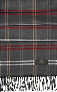Plaid Herringbone% 100 Cashmere Scarf Women and Men Super Soft Luxurious Winter Shawl with Gorgeous Gift Box –