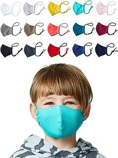 Enter the Complex® Mondkapjes Wasbar op 60 Graden met Filtervakje, 1Pcs, Masker Stof, Mondneusmasker van Jersey Katoen, za...