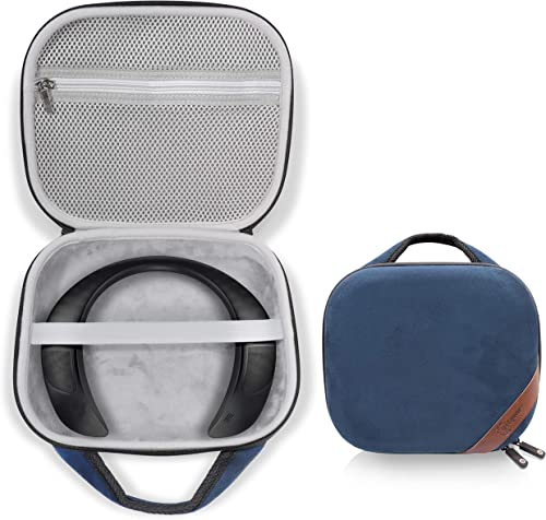 2021 Protective online Case for Bose Soundwear Companion Wireless Wearable Speaker popular by WGear, Featured Designed with Excellent Protection, Removable Mesh Pocket for Cable and Other accessorie (Blue) online