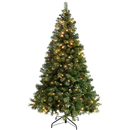 Pre Lit Artificial Christmas Tree Amazon Co Uk