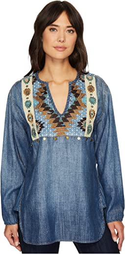 Double D Ranchwear - Blue Canyon Top