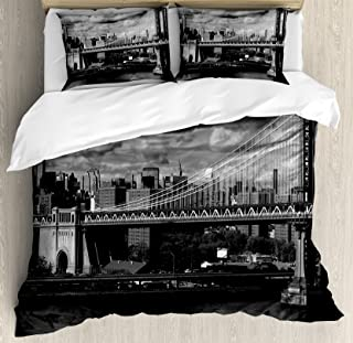 Best grey black and white bedding Reviews
