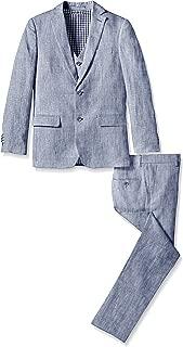 Boys' 3pc Linen Suit