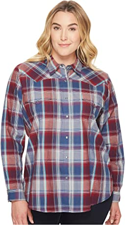 Roper - Plus Size 1181 Flag Plaid