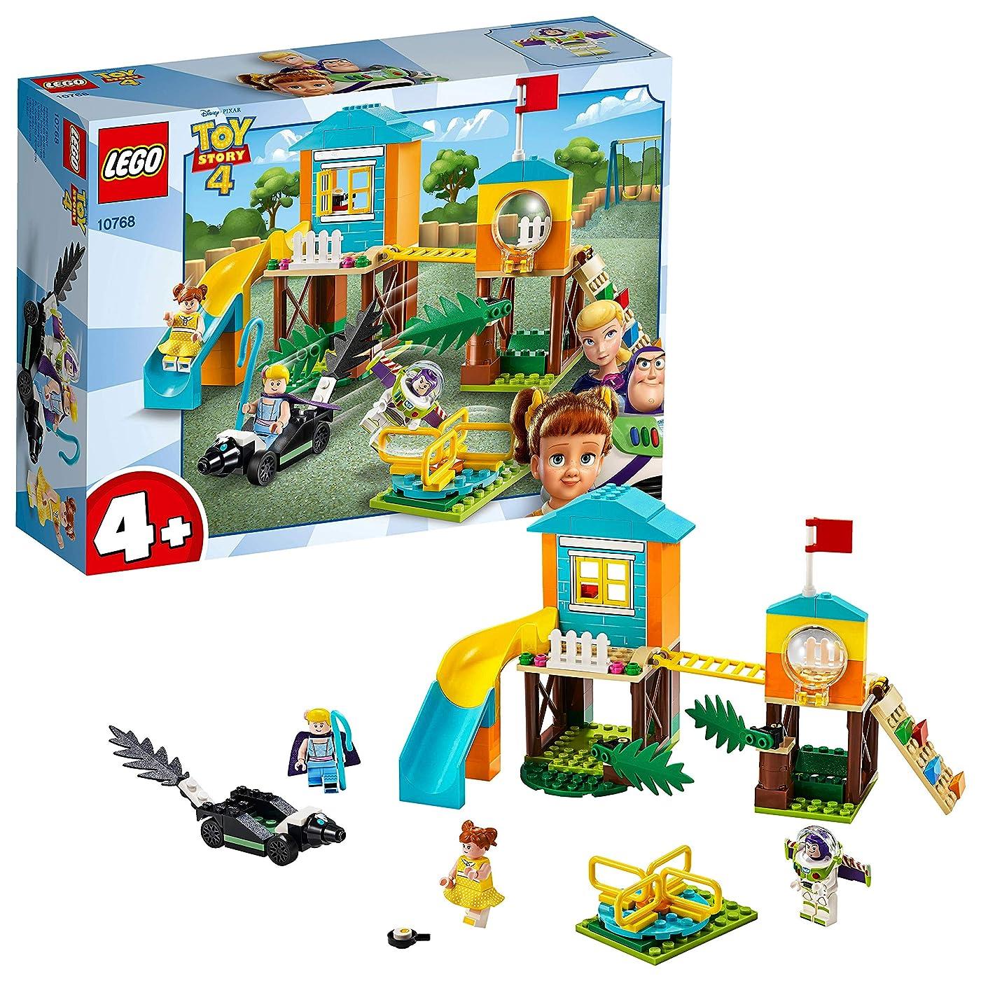 人差し指本体医療のレゴ(LEGO) トイストーリー4 バズ&ボー?ピープの遊び場の冒険 10768 ディズニー ブロック おもちゃ 女の子 男の子