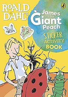 Roald Dahl's James and the Giant Peach Sticker Activity Book