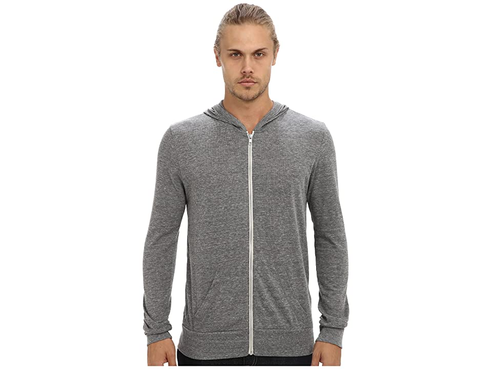 Alternative L/S Zip Hoodie (Eco Grey) Men
