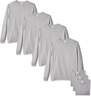 Hanes Men's Essentials Long Sleeve T-shirt Value Pack (4-pack)
