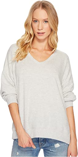 Project Social T - Can't Help Myself Cozy V-Neck Top