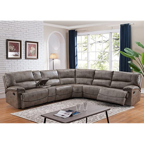 Astounding Sectional Sofa Recliner Amazon Com Gmtry Best Dining Table And Chair Ideas Images Gmtryco