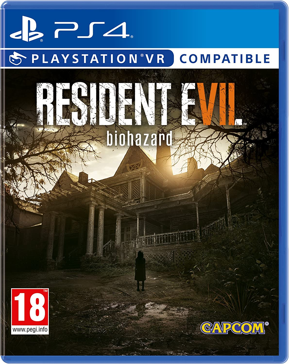Resident Evil 7 Biohazard Ps4 Psvr Amazon Co Uk Pc Video Games