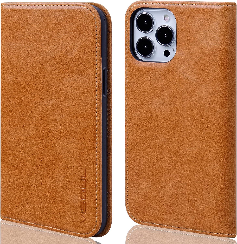 VISOUL Flip Case for iPhone 13 Pro Max 6.7