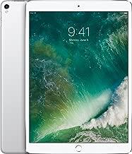 Apple iPad Pro 10.5in with (Wi-Fi + Cellular) - 2017 Model - 64GB, SILVER (Renewed)