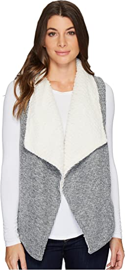 Mod-o-doc - Corded Sweater Knit Reversible Vest