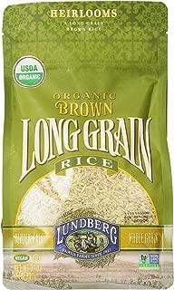 Lundberg Family Farms Organic Long Grain Rice, Brown, 32 Ounce (Pack of 6)