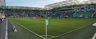 hochwertiger FineArtPrint 120 cm x 50 cm Blue-Letter Stuttgart Degerloch I Stadion