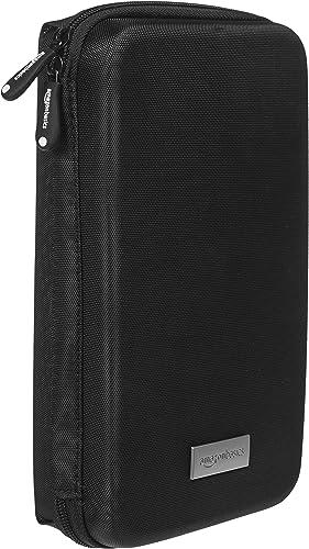 AmazonBasics, Estuche universal para dispositivos electrónicos pequeños y accesorios, color Negro OE-4011