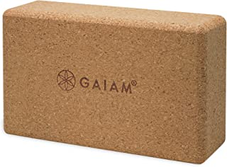 Gaiam - Ladrillo de Corcho para Yoga