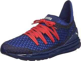 PUMA Men's Ignite Limitless Netfit Sneaker,Blue Depths-Lapis Blue,11 M US