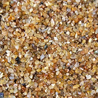 Rock Paradise Carnelian Chips 1 lb Tumbled Natural Stones - Gemstone Supplies for Wicca, Reiki, and Energy Crystal Healing
