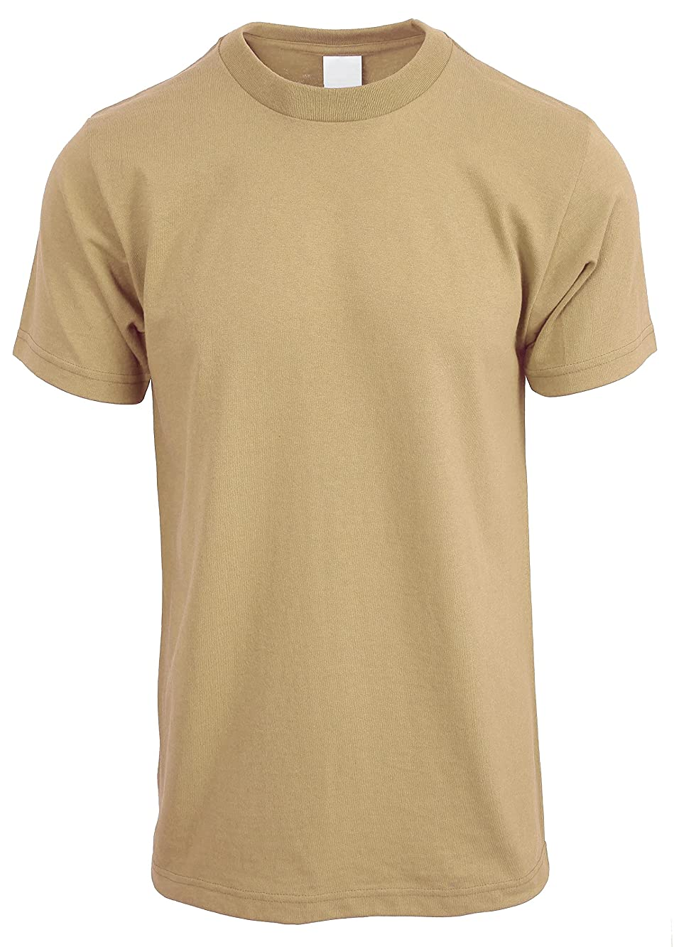 Hat and Beyond Mens Crew Neck T Shirts Solid Short Sleeve Active Tee S-5XL