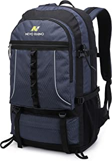 NEVO RHINO 45L Hiking Backpack, Expandable Large Capacity Daypack,Lightweight Backpack for Camping Climbing