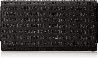 A|X Armani Exchange Flap Over Wallet, black