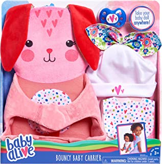 Baby Alive Bouncy Baby Carrier, Pink