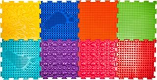 Ortodon Space Modular Mat for Baby Hypoallergenic Elastic PVC Non-Toxic Non-Smell Non-Slip 8 modules with Size 9.8 in x 9.8 in Each