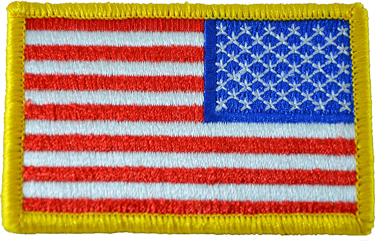 Tactical Reverse USA Flag Patch - American Flag 2