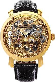 Lindberg & Sons - Reloj analógico para Hombre de automático con Correa en Piel SK14H060