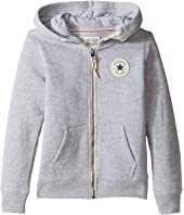 Converse Kids - Core Zip Hoodie (Toddler/Little Kids)