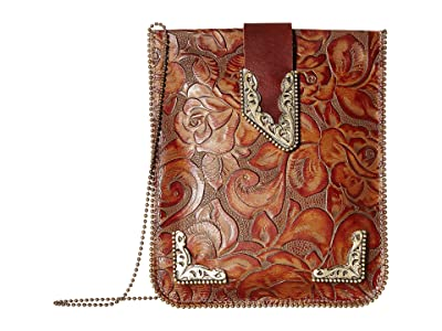 Leatherock Charmaine Cell Pouch (Rust) Cross Body Handbags