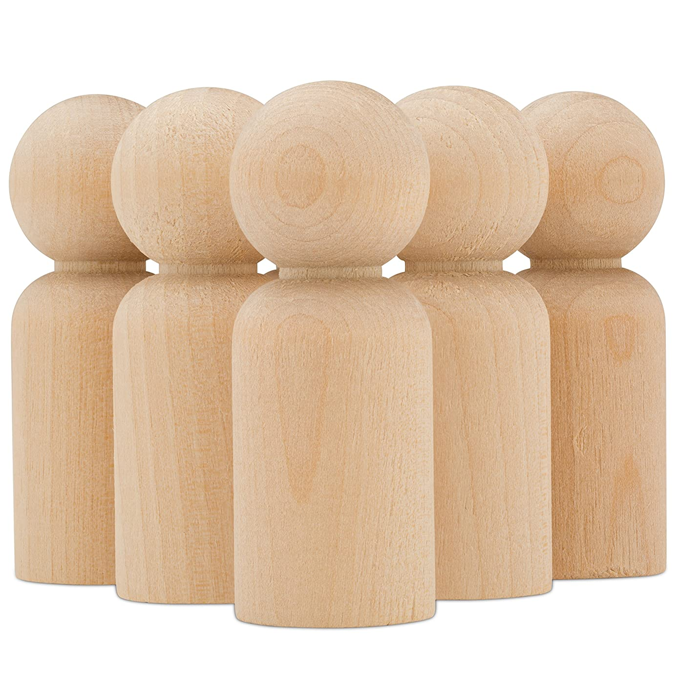 Wood Doll Dad Bodies 2-3/8