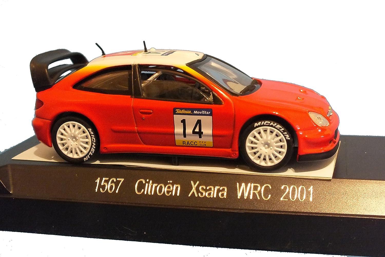 Modellauto Citroen Xsara T4-WRC, 1 43 B01M8LAJFX Ausgezeichnet    Sale Düsseldorf