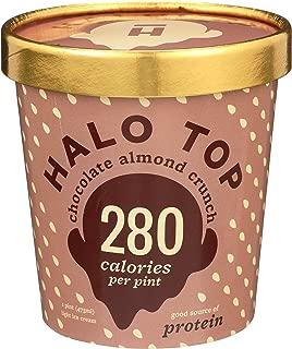 Halo Top Chocolate Almond Crunch, 16 oz (Frozen)