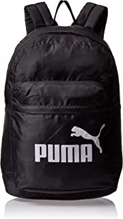PUMA 7575201 Classic Backpack Black Bag For Unisex, Size One Size