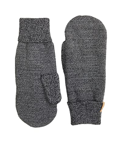 tentree Classic Marled Mittens (Meteorite Black Marled) Over-Mits Gloves