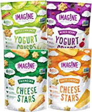 Imag!ne Cheese Stars and Yogurt Crisps Sampler Variety Pack, 4 Count