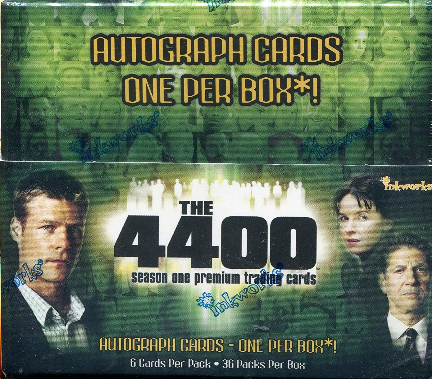 The 4400 Season 1 Factory Sealed Hobby Box 36 Packs
