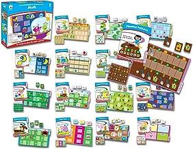 Carson-Dellosa CD-140305 Math File Folder Game, Grade Kindergarten, 16 Games, 20 Sheets of Cards (Pack of 36)
