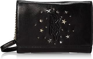 DKNY Womens HandBag, Black (Black/Gold) - R94EUF46