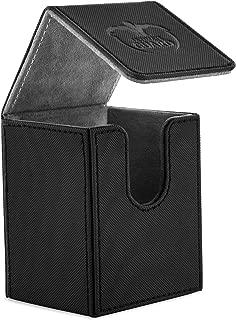 Ultimate Guard 100 Card Flip Xenoskin Deck Case, Black