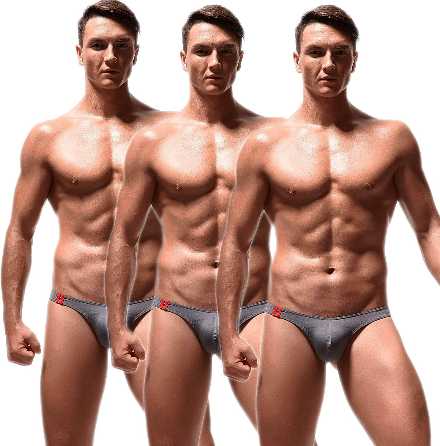 Newsywell Men's Multipack Low Rise T Back Discount is Ranking TOP20 also underway Breathable Bikin Thong