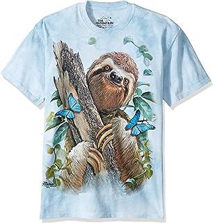 The Mountain Sloth & Butterflies T-Shirt
