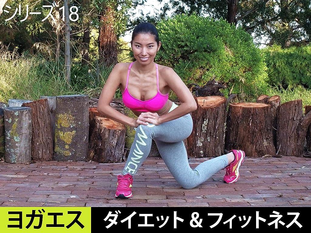 やめる彼女幻滅するヨガエス ダイエット & フィットネス トレーニング シリーズ 18