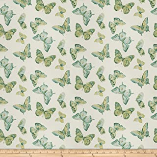 Charlotte Moss Menton Linen Blend Peacock Fabric by The Yard